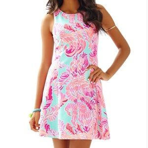{lilly pulitzer} Cove sleeveless fit & flare dress